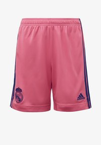 adidas Performance - REAL MADRID AWAY AEROREADY SHORTS - Sports shorts - pink - 0