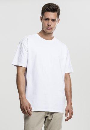 HEAVY OVERSIZED TEE - T-shirt - bas - white