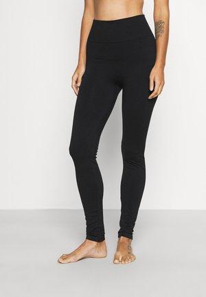 WOMENS SEAMLESS GRACE - Leggings - black