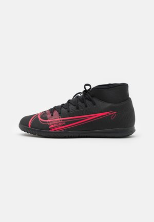 MERCURIAL 8 CLUB IC - Indoor football boots - black/cyber