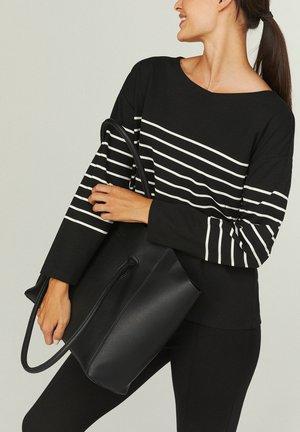 SARAH - T-shirt à manches longues - black
