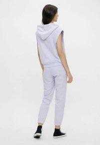 Pieces - Print T-shirt - purple heather - 2