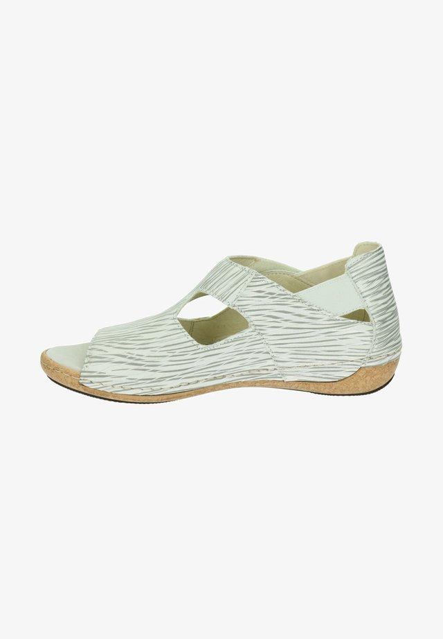 Sandalen - zilver