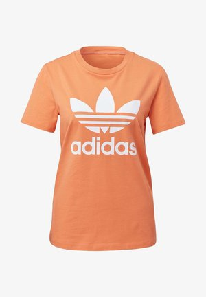 TREFOIL T-SHIRT - Print T-shirt - orange