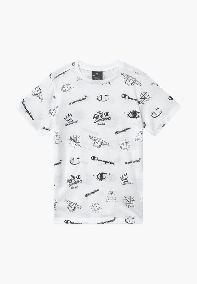 LEGACY AMERICAN CLASSICS CREWNECK - Camiseta estampada - white