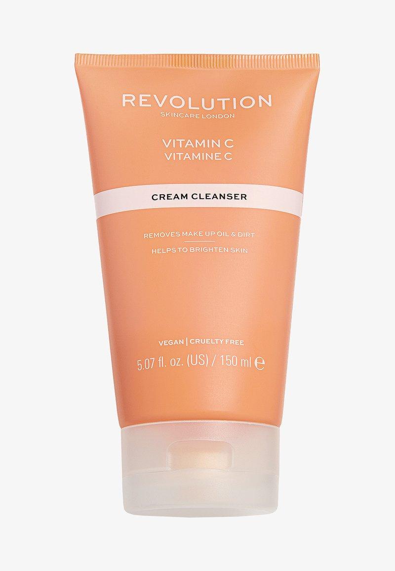 Revolution Skincare - VITAMIN C CREAM CLEANSER - Cleanser - -