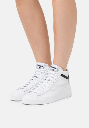 GAME OPTICAL - Baskets montantes - optical white/black