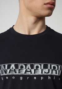 Napapijri - SALLAR - T-shirt med print - blu marine - 2