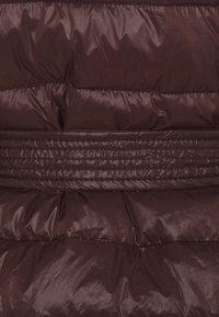 Vero Moda - VMSORAYALYDIA JACKET  - Winter coat - chocolate plum - 2