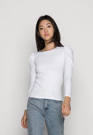 NATASHA  - Maglietta a manica lunga - bright white