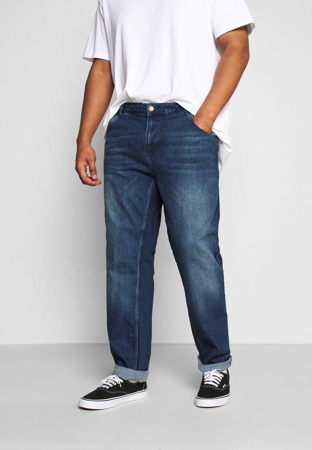 HENLOW PLUS - Jeans slim fit - dark used