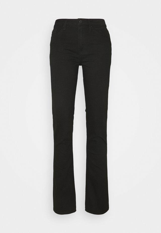ROME STRAIGHT  - Straight leg jeans - black