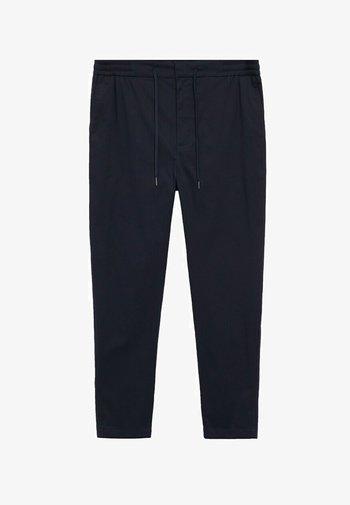 MATEO - Pantaloni - dunkles marineblau