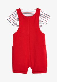 Next - RED DUNGAREES AND BODYSUIT SET (0MTHS-2YRS) - Body - red - 1