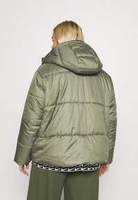 Nike Sportswear - CLASSIC TAPE - Winter jacket - medium olive/black/white - 2