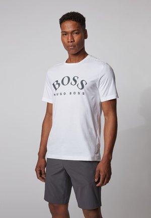 TEE 5 - Print T-shirt - white