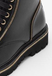 Steffen Schraut - ZIP STREET - Lace-up ankle boots - black - 4