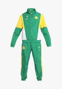 Nike Performance - NBA BOSTON CELTICS COURTSIDE TRACKSUIT - Pelipaita - clover/amarillo/white - 8