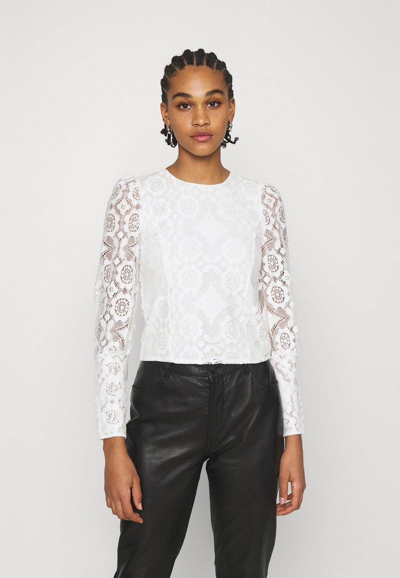 YAS - YASWILMA - Long sleeved top - star white