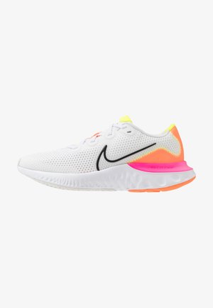 RENEW RUN  - Neutrale løbesko - white/black/platinum tint/pink blast/lemon/total orange