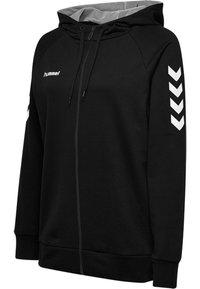 Hummel - HMLGO - Zip-up sweatshirt - black - 2