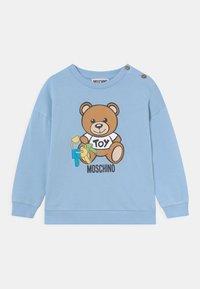 MOSCHINO - Sweatshirt - blue - 0
