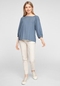 s.Oliver - Blouse - faded blue embroidery - 1