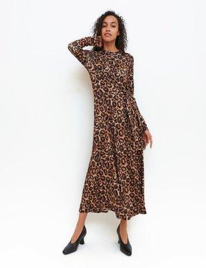 Maxi dress - choco brown