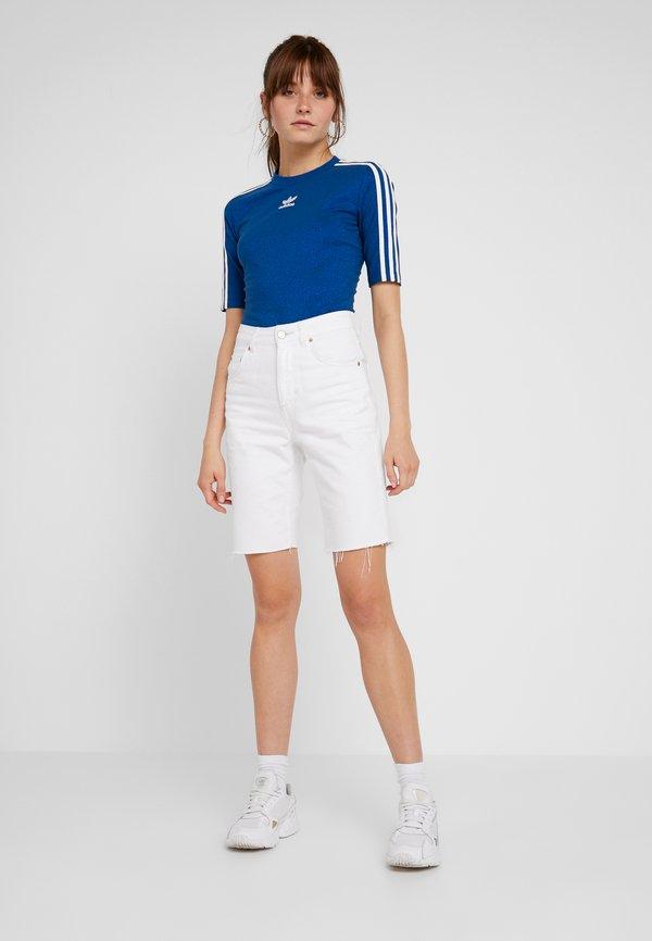 adidas Originals T-shirt z nadrukiem - tech mineral Melanż Odzież Damska VBRH VH 1