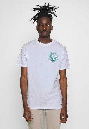EARTH  - T-shirt con stampa - white