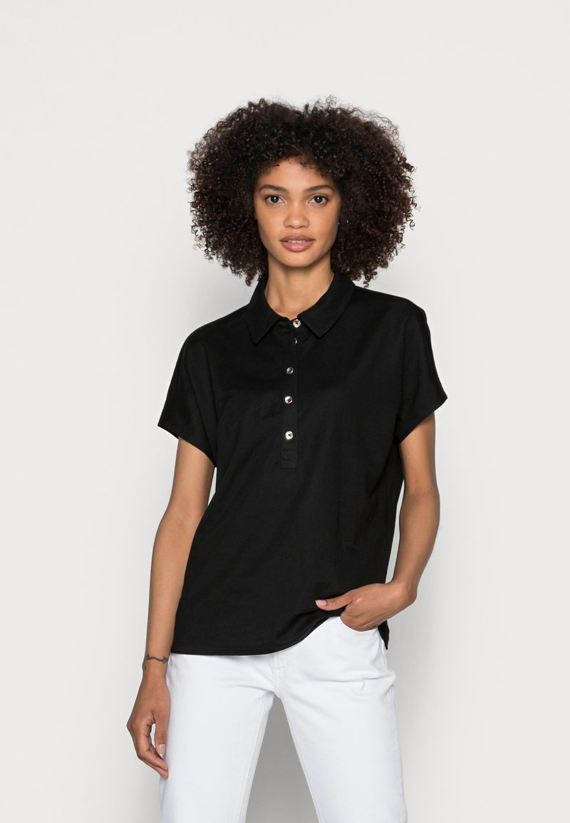 comma - Polo shirt - black
