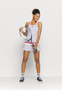 adidas Performance - PRO HEAT SPORTS SLIM DRESS SET - Sports dress - glow grey - 1