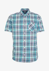 KURZARM - Shirt - blue
