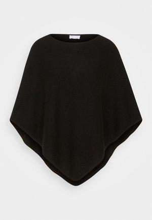 TRIANGLE PONCHO - Cape - black