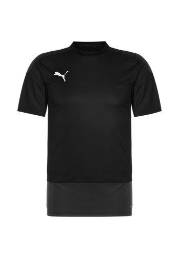 TEAMGOAL 23 TRAININGSSHIRT HERREN - T-shirt z nadrukiem - black / asphalt