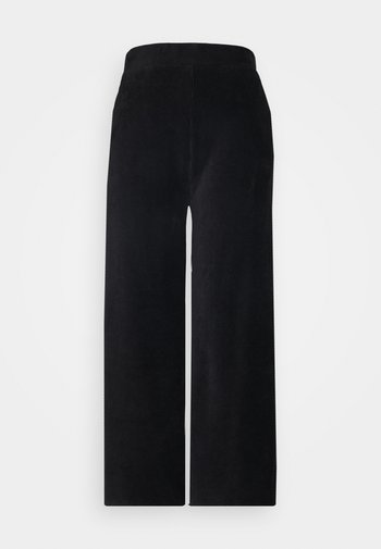 WIDE LEG CROPPED CORD TROUSERS