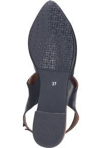 Piazza - Ankle strap ballet pumps - schwarz - 3