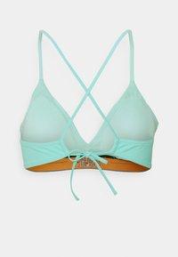 Tommy Hilfiger - MIAMI TRIANGLE FIXED - Bikini top - miami aqua - 1