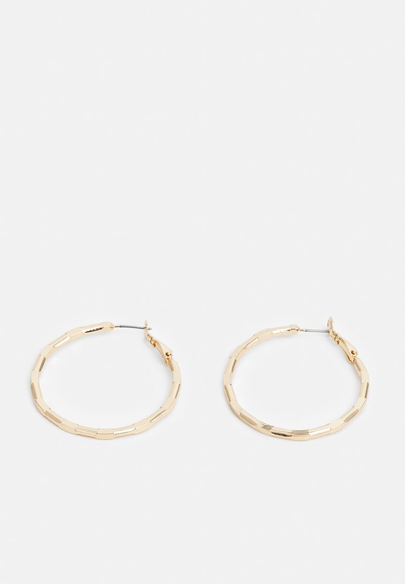LIARS & LOVERS - WIN SHARP FACET HOOP - Earrings - gold-coloured