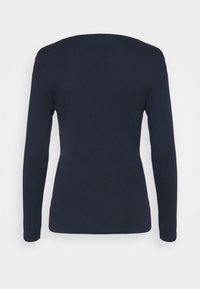 Marks & Spencer London - REGULAR CREW - Long sleeved top - dark blue - 1