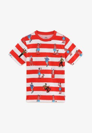 Print T-shirt - (where's waldo?)whtrcngre
