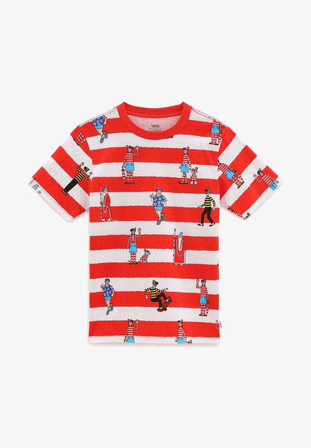Camiseta estampada - (where's waldo?)whtrcngre