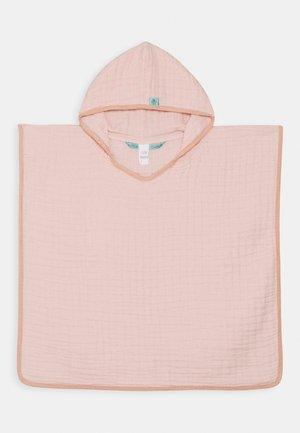 PONCHO UNISEX - Bath towel - rose