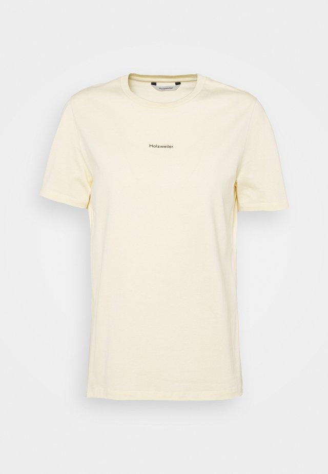 SUZANA TEE - T-shirt basic - yellow