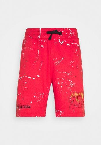 VARSITY - Shorts - red
