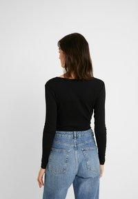 Even&Odd - BODYSUIT BASIC - T-shirt à manches longues - black - 2
