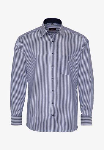 FITTED WAIST - Formal shirt - dark blue