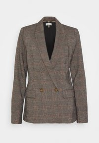 Esprit - CHECK  - Short coat - camel - 0