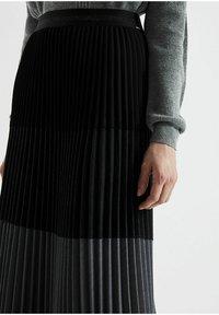 IKKS - Pleated skirt - noir - 2