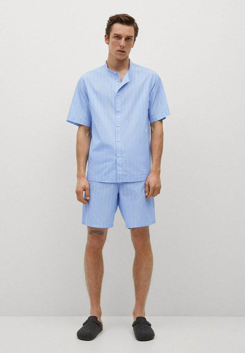 Mango - Pyjama top - blauw